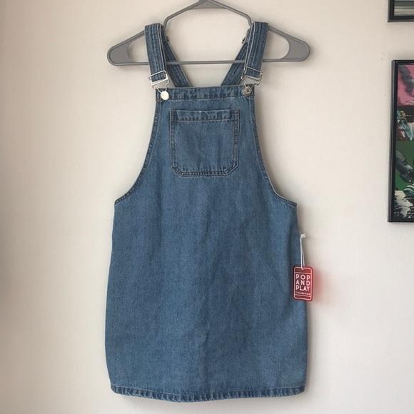 Forever 21 Dresses & Skirts - Forever 21 Denim Overall Dress